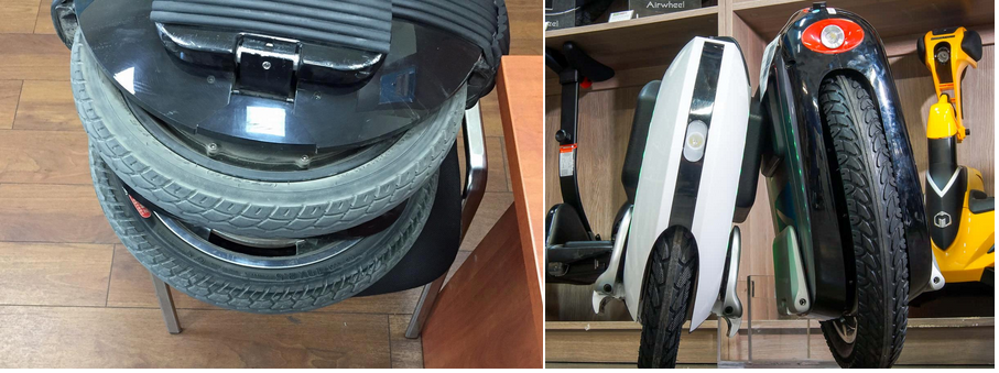 ремонт шины моноколеса